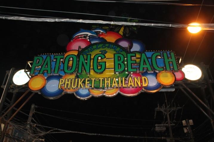 Patong-Beach bei Nacht