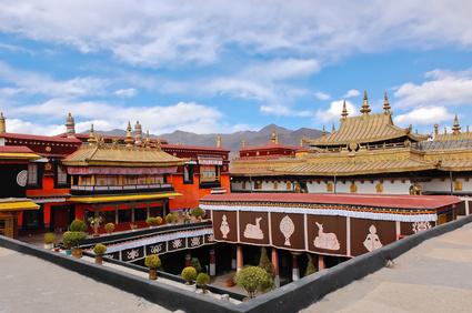 Jokhang Tempel in Lhasa,