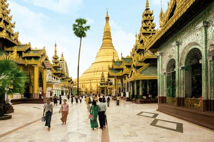 Rangun in  Myanmar