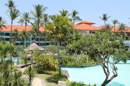 Poollandschaft Hotel Bali